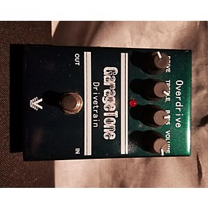 Pre-owned Visual Sound Garage Tone Drivetrain Overdrive Effect Pedal by Visual Sound
