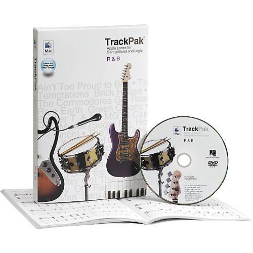 Hal Leonard GarageBand R'n'B TrackPak (Book/DVD ROM)-thumbnail