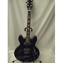 Epiphone Gary Clark Jr Blak And Blu Casino Hollow Body Electric Guitar