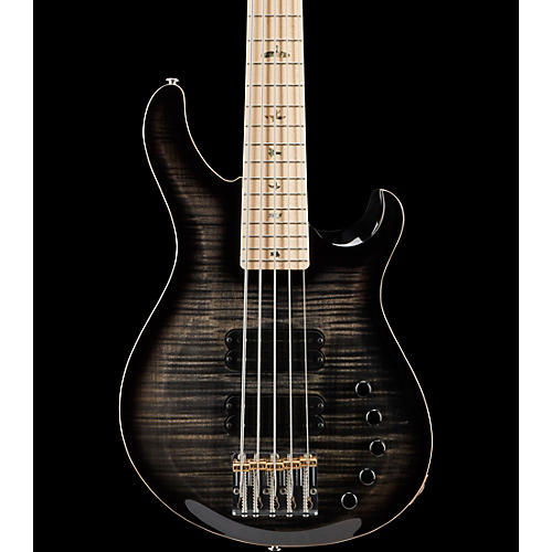 PRS Gary Grainger 5-String Electric Bass Guitar with Maple Fretboard Charcoal Burst