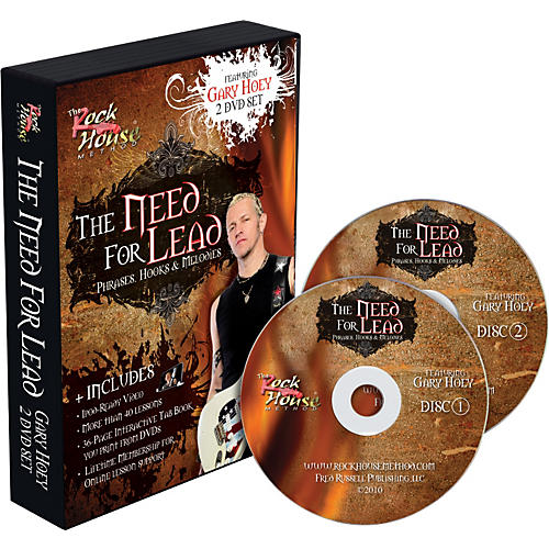 Rock House Gary Hoey: The Need For Lead Phrases, Hooks &  Melodies DVD