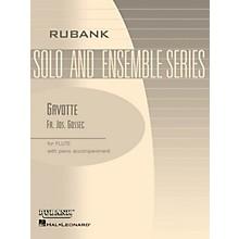 Rubank Publications Gavotte (Flute Solo with Piano - Grade 2) Rubank Solo/Ensemble Sheet Series