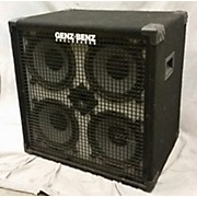 Genz Benz Gb410t Std Bass Cabinet