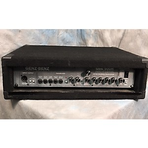 Pre-owned Genz Benz Gbe 500 Bass Amp Head