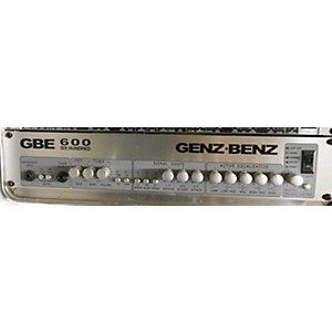 Pre-owned Genz Benz Gbe 600 Bass Amp Head by Genz Benz
