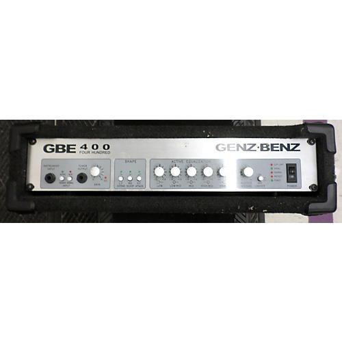 Genz Benz Gbe400 Bass Amp Head