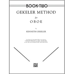 Alfred Gekeler Method for Oboe Book II by Alfred