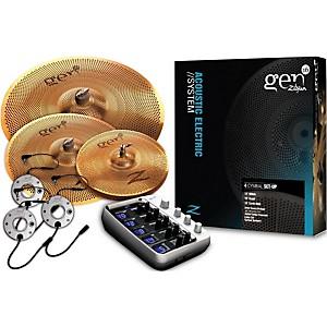 Zildjian Gen16 Buffed Bronze 13/16/18 Acoustic-Electric Cymbal Pack