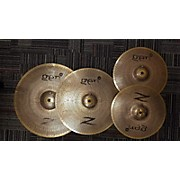 Zildjian Gen16 Buffed Bronze 13/18/20 Acoustic-Electric Cymbal Pack Electric Cymbal