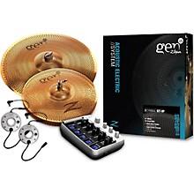 Zildjian Gen16 Buffed Bronze 14/18 Acoustic-Electric Cymbal Pack