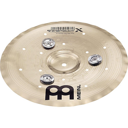 Meinl Generation X Filter China Effects Cymbal with Jingles-thumbnail