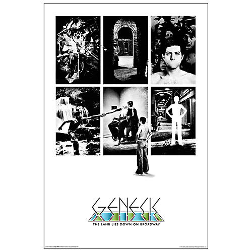 Hal Leonard Genesis Lamb Lies Down on Broadway Wall Poster-thumbnail