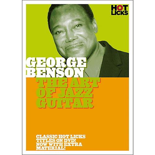 Music Sales George Benson: The Art of Jazz Guitar DVD-thumbnail