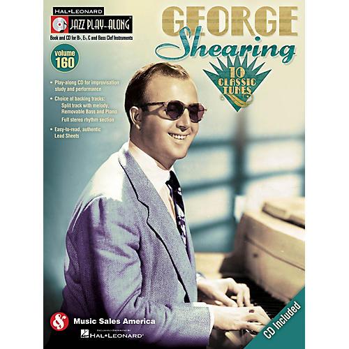 Hal Leonard George Shearing - Jazz Play-Along Volume 160 Book/CD-thumbnail