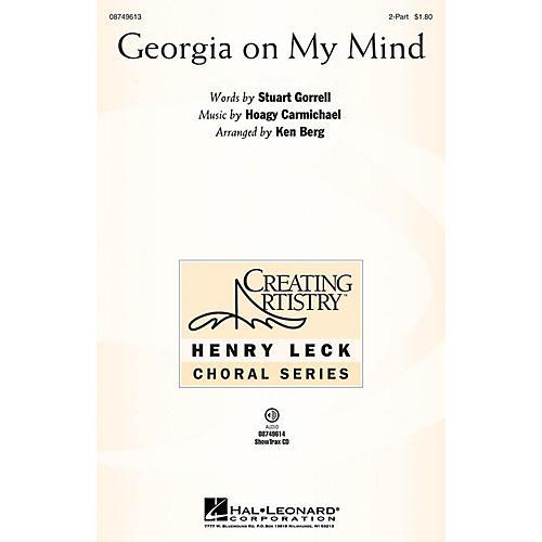 Hal Leonard Georgia on My Mind 2-Part arranged by Ken Berg