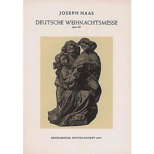Schott German Christmas Mass (Vocal Score) Composed by Joseph Haas