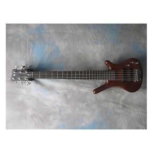 Warwick German Corvette 6 String Natural Electric Bass Guitar-thumbnail