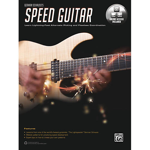 Alfred German Schauss's Speed Guitar Book & Online Audio & Video