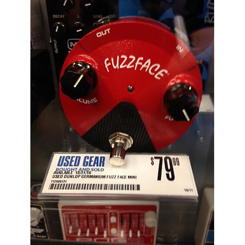 Dunlop Germanium Fuzz Face Mini Red Effect Pedal
