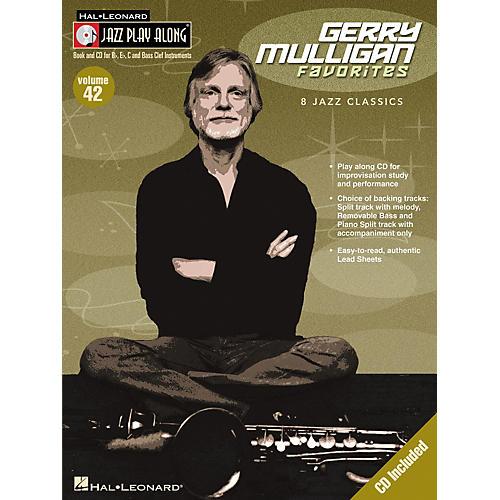 Hal Leonard Gerry Mulligan Favorites--Jazz Play Along Volume 42 Book with CD-thumbnail