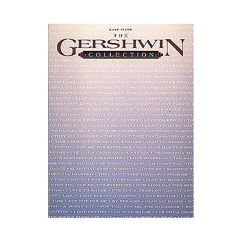 Hal Leonard Gershwin Collection For Easy Piano-thumbnail