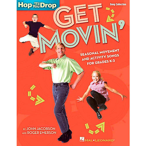 Hal Leonard Get Movin' - Seasonal Movement and Activity Songs for Grades K-3 Performance/Accompaniment CD-thumbnail