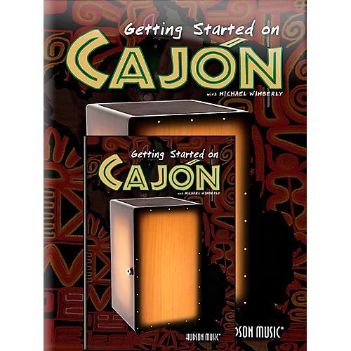 Hal Leonard Getting Started On Cajon (Book/DVD)-thumbnail