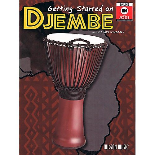 Hal Leonard Getting Started On Djembe (Book/DVD)-thumbnail