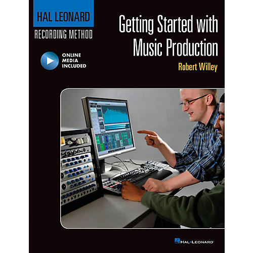 Hal Leonard Getting Started with Music Production Book/Online Video-thumbnail