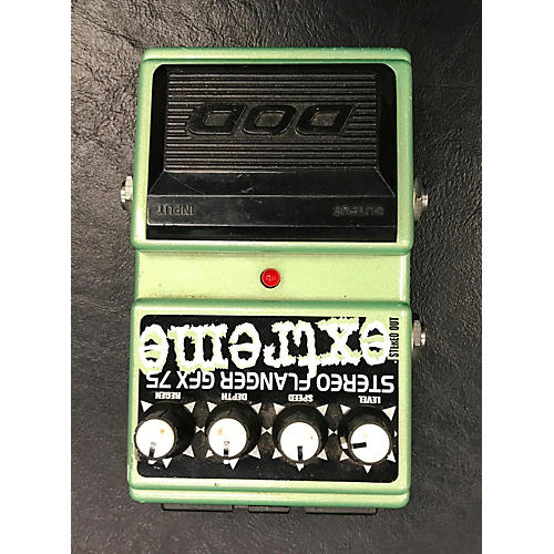 DOD Gfx75 Extreme Stereo Flanger Effect Pedal