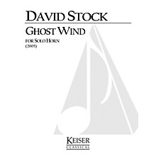 Lauren Keiser Music Publishing Ghost Wind (Horn Solo) LKM Music Series Composed by David Stock