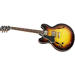 Gibson Custom ES-335 Dot Left-Handed Electric Guitar with Figured Top (ESDTLVSNH1)
