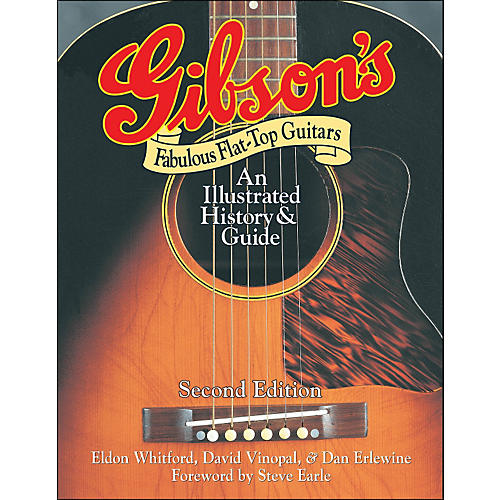 Backbeat Books Gibson's Fabulous Flat-Tops - Revised And Updated-thumbnail