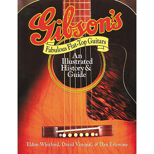 Hal Leonard Gibson's Fabulous Flat Tops Book-thumbnail