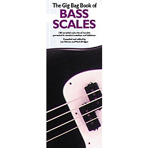 Music Sales Gig Bag Book of Bass Scales by Music Sales