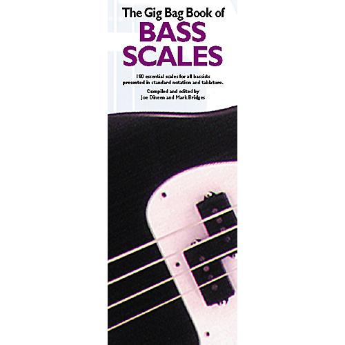 Music Sales Gig Bag Book of Bass Scales-thumbnail