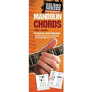 Music Sales Gig Bag Book of Mandolin Chords by Music Sales