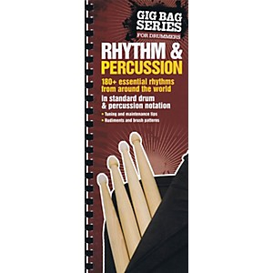 Music Sales Gig Bag Book of Rhythm and Percussion Music Sales America Series ...