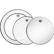 Remo Gig Drumhead Pack with Free Ambassador Snare Side Head
