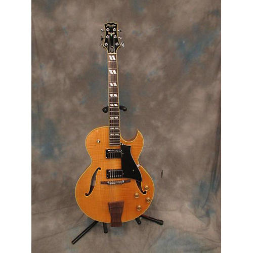 PEERLESS Gigmaster Jazz Hollow Body Electric Guitar Butterscotch