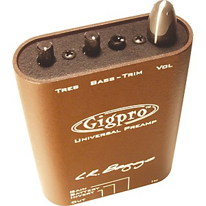 LR Baggs Gigpro Acoustic Guitar Preamp by LR Baggs