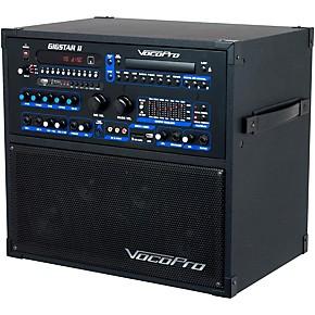 vocopro gigstar ii portable 100w 4 channel pa karaoke system guitar center. Black Bedroom Furniture Sets. Home Design Ideas