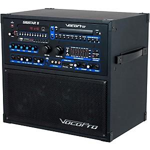 VocoPro Gigstar II Portable 100 Watt 4-Channel PA/Karaoke System by VocoPro