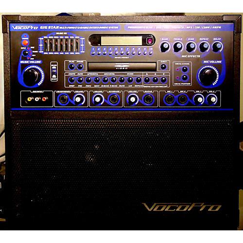 used vocopro gigstar karaoke machine dj player guitar center. Black Bedroom Furniture Sets. Home Design Ideas