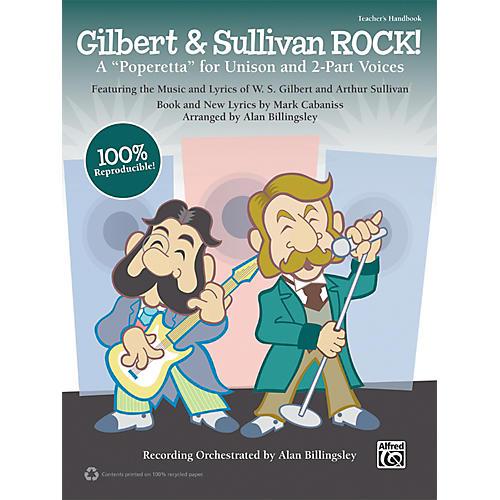 Alfred Gilbert & Sullivan ROCK! (Book/CD)-thumbnail