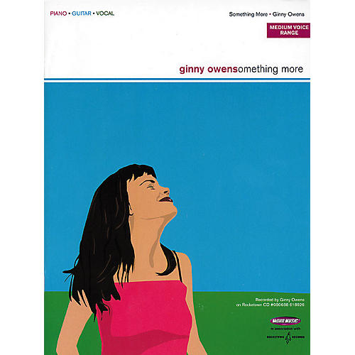 Word Music Ginny Owens - Something More Piano, Vocal, Guitar Songbook-thumbnail