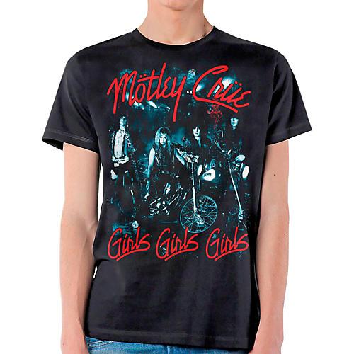 Motley Crue Girls Girls Girls T-Shirt-thumbnail