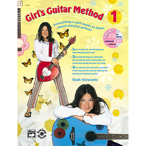 Alfred Girl's Guitar Method 1 Book and CD