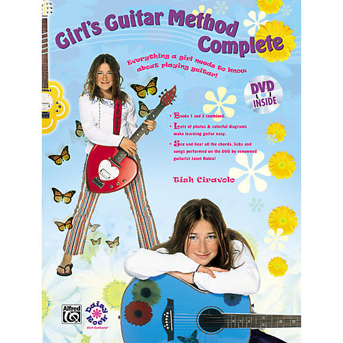 Alfred Girls Guitar Method Complete Book/Dvd