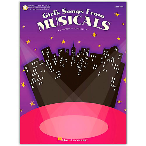 Hal Leonard Girl's Songs From Musicals Book/Online Audio-thumbnail